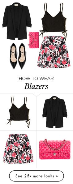 """""""Untitled #821"""" by weirdzebra on Polyvore featuring Etro, Hollister Co., River Island and Chanel"""