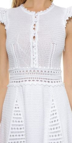 RED Valentino Crochet Dress | SHOPBOP