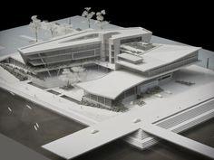 HIGH PERFORMANCE CENTRE, DURBAN by bloc architects, via Behance: