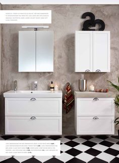 Gustavsberg baderumsmøbel. Perfekt til det nostalgiske og hyggelige badeværelse. Fås i flere størrelser i høj kvalitet. #Gustavsberg #baderumsmøbler #bathroom #badeværelse #badmøbler #vvscomfort