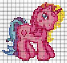 Cross me not: Pink pony-time