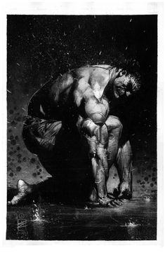 Hulk by Eddy Newell