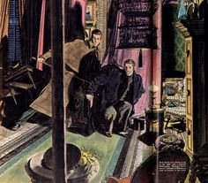 Robert Fawcett Sherlock Holmes