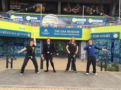 GAA Museum staff prepare for Culture Night 2015 in Dublin. Croke Park, Dublin, Ireland, Museum, Tours, Events, Culture, Club, Activities