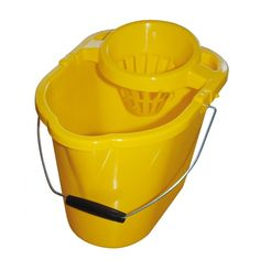 Coloured plastic mop bucket, with wringer. Perfect for use with socket, excel revolution, freedom mini or optima mop heads. To add the item to basket please click on the product and select the colour you would like. Sold individually.