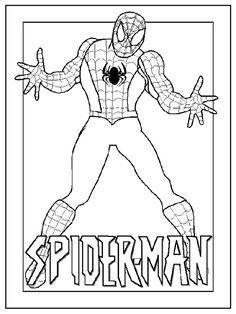 Kleurplaten Spiderman 3.25 Beste Afbeeldingen Van Spider Man Spiderman