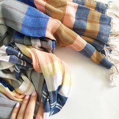 Spring scarf at Hello Luvvy