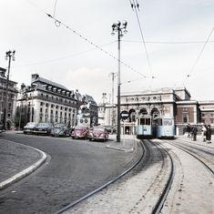 Gustav Adolfs Torg 1959 Stockholm Syndrome, Gothenburg, Stockholm Sweden, Past, Street View, 1950s, City, World, Photography