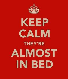 I'm beginning to understand this. I love my little one but bed time has become a magical time :)