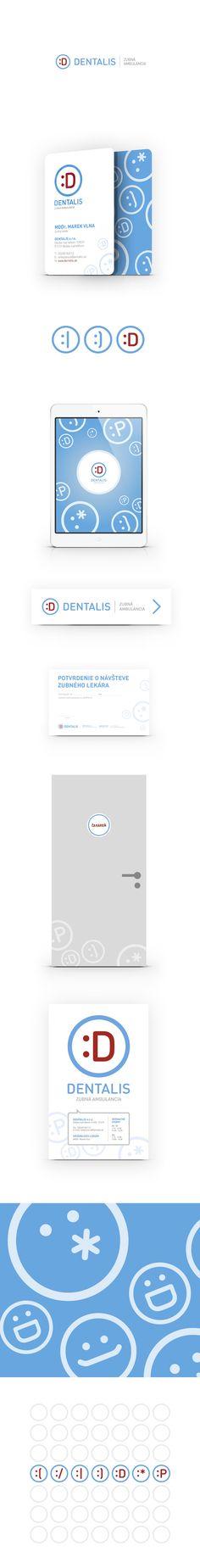 Dentalis // zubná ambulancia Identity, Map, Ambulance, Cards, Maps