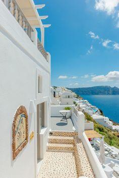 Caldera View in Oia, Santorini , Greece