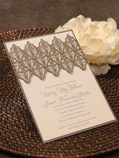 Modern Wedding Invitations - Paper Panache Invitations & Design