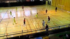 Partido de futbol sala cadete entre A. D. Collado Villalba y Oroquieta E...