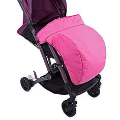 HOT Sale Universal Warm Winter Quilted Stroller Foot Muff Windshield Cover For Babies Winter Comfortable Protection For Infant (Pink Color) ** Read more reviews of the product by visiting the link on the image.
