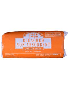Bleached Non Absorbent Cotton Wool Manufacturers