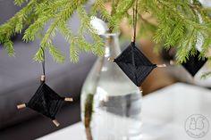 Oravanpesä | DIY: Salmiakki-koriste
