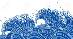 46609637-Blue-wave-Japanese-style-Stock-Vector-japan-wave-waves.jpg (1300×699)