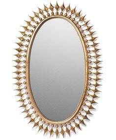 Wellington Mirror - Gold Leaf by Emporium Home