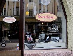 Sweetheart karkkikauppa Uudenmaankadulla