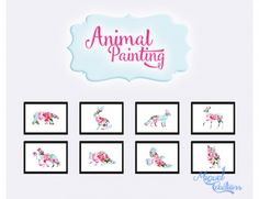 Animal Paintings at Victor Miguel via Sims 4 Updates