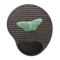 Moth, Gel Mousepad. Gel Mouse Pad
