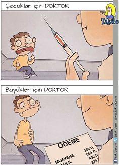 Eskiden doktor demek iğneydi