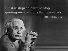 Albert Einstein's Real Wish   #humor    From my new Lost quotes of famous people series.