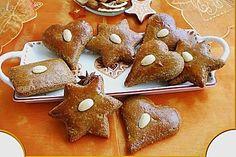 Omas Lebkuchen von Christine_R Baking Recipes, Snack Recipes, Dessert Recipes, Bread Recipes, Christmas Desserts, Christmas Baking, Christmas Recipes, Easy Smoothie Recipes, Biscuit Cookies