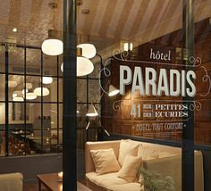 Paris Hotel - Hotel Paradis Paris, France by Paris Hotel, via Flickr