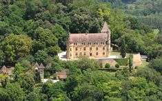 French Castle above the Dordogne valley, 10 bedrooms, an enormous drawing room with a grand stone fireplace, a library, study, dining room and television room. The kitchen has vaulted stone roof and a wine cellar. Within the 47-acre grounds sits a 5 bedroom guesthouse and a saltwater swimming pool. Selling for only £3.5M