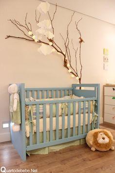 enxoval de bebê verde e azul