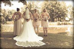 the girls and me Diy Wedding, Lace Wedding, Bridesmaid Dresses, Wedding Dresses, Girls, Fashion, Bridal Dresses, Moda, Bridal Gowns