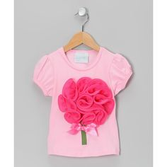 Pink Flower Bouquet Tee - Infant, Toddler & Girls | Daily deals for... via Polyvore