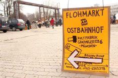 Flohmarkt am Ostbahnhof