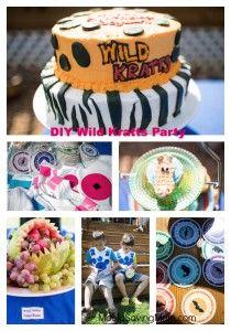 DIY Wild Kratts Birthday Party