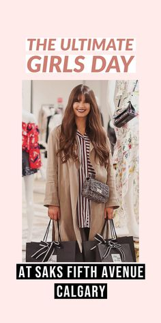 Fashionista and lifestyle guru Justine Celina Maguire walks you through the plush services you can enjoy at SAKS Fifth Avenue in Calgary Fresh Makeup, Special Occasion Outfits, Silk Floral Dress, Shopping Travel, Girl Day, Saks Fifth Avenue, Calgary, New Moms, Color Trends