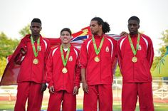 MU18 Legion Branch 4x100m Relay Final Results 2013 National Youth Track and Field Championships