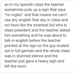 No Ingles, But You Didn't Say Anything About Other << I'd speak chinese lol Languages // funny pictures - funny photos - funny images - funny pics - funny quotes - Stupid Funny, Haha Funny, Funny Texts, Funny Jokes, Hilarious, Funny Stuff, Random Stuff, Funny Tumblr Posts, My Tumblr