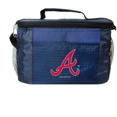 MLB 2014 6 Pack Cooler Lunch Tote (Atlanta Braves)