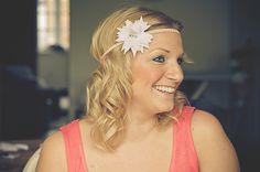 Floral Headband Pretty - D.I.Y Friday