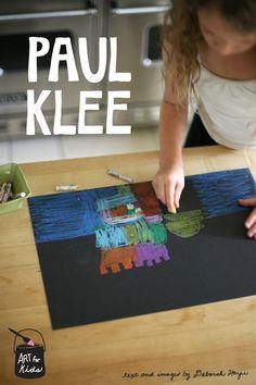 paul klee art lesson for kids