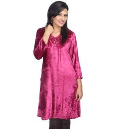 Best Western Clothing Designer For Women Buy Designer Velvet Kurta