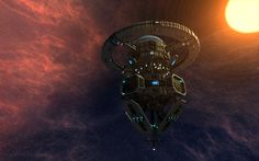 """""""Outpost"""" is one of the trading guild #Starmade stations, made  by dalmond"""