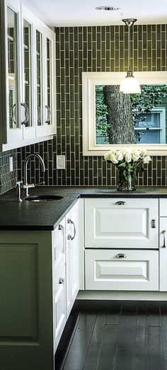 Here 39 s a link to daltile 39 s rittenhouse square subway tile we 39 d get in the matte artic white - Exceptional backsplash kitchen interiors artistic look ...