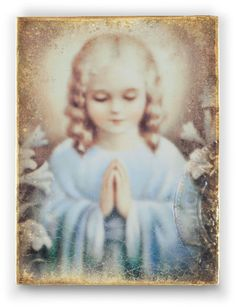 Sid Dickens Sweet Prayer to purchase call NCH Galleries at (951)734-5989