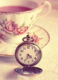 Hora do chá...