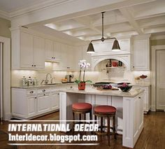 coffered ceiling design for kitchens, plaster coffered ceiling