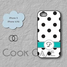 Monogram iPhone 4 case personalized iPhone 5 case by CookCase, $14.99