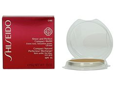 Shiseido Sheer and Perfect Compact Foundation Refill SPF 21 - O60 Natural Deep Ochre *** Check out the image by visiting the link.