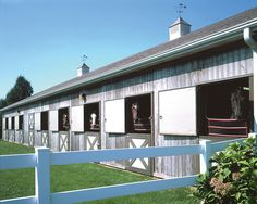 An equestrian estate in Bridgehampton, NY. Photo by Brown Harris Stevens of the Hamptons.